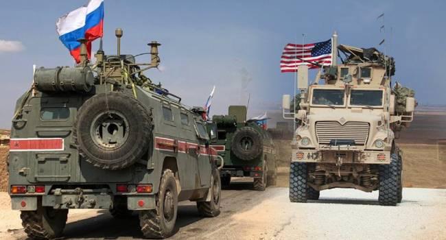 «Были готовы начать бой»: В Сирии между США и РФ произошел конфликт, россияне вынужденно отступили