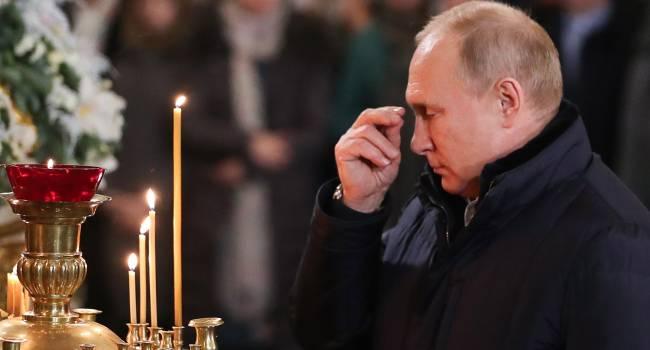 Путин является дико религиозным и суеверным человеком, и на самом деле боится якутского шамана - Яковина