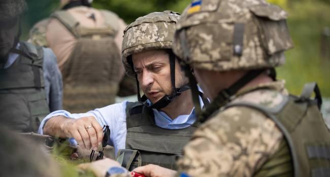 За полгода Зеленский умудрился превратить регулярную украинскую армию в некую структуру, которая воюет тайно - Доник