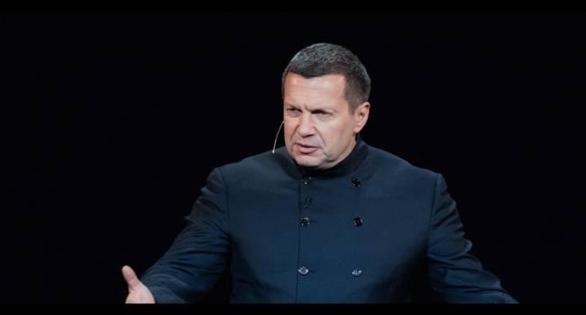 «Мы входим в самую страшную войну»: Соловьев сделал неожиданное заявление
