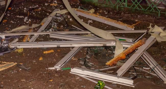 ЧП в Днепре: Мощный взрыв разрушил часть девятиэтажного дома, есть жертвы