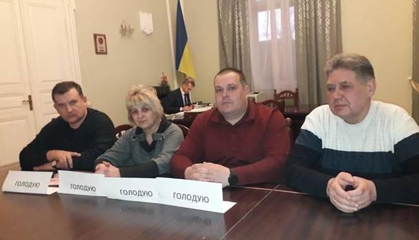 Горняки в здании Львовской ОГА устроили голодовку: в чем причина