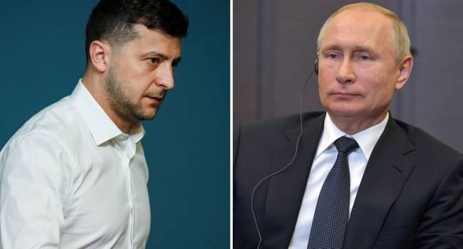 Зеленский воспринимает Путина как настоящего главу государства, которого нужно бояться - мнение