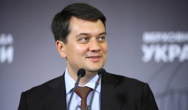 Разумков пояснив, коли варто чекати підвищення заробітної плати депутатам