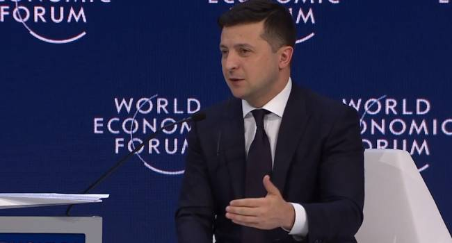 «Это профанация»: Политолог обратил внимание, что Зеленский не смог ответить ни на один из вопросов модератора в Давосе