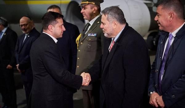 Зеленский начал рабочий визит в Израиль
