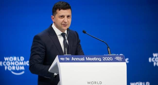 Блогер: речи всех президентов Украины в Давосе написаны, как под копирку – выступление Зеленского не стало исключением