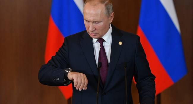 Небоженко: Путину приходится делать выбор в условиях голубого социально-экономического кризиса в РФ, и у него сейчас есть 4 варианта