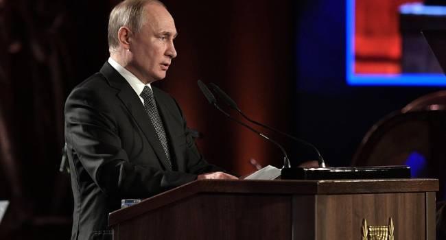Путин сравнил антисемитизм и русофобию, призвав поднять этот вопрос на Совбезе ООН