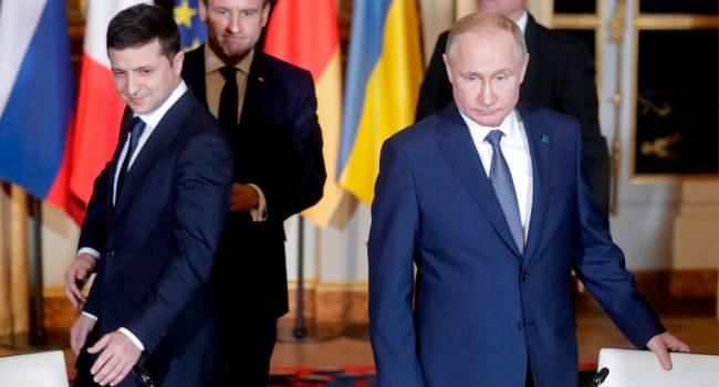 «Никаких встреч не будет»: У Путина рассказали о переговорах с Зеленским