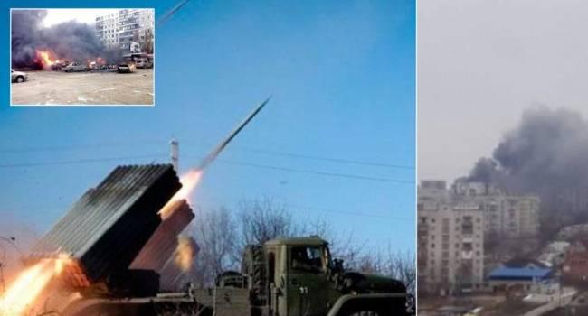 Военный эксперт об обстреле Мариуполя: когда наступит время второго раунда российские генералы опять вернутся сюда