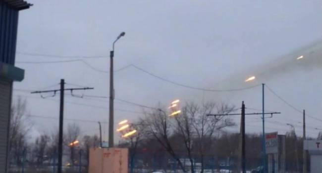 «Ужас! Прямо сейчас в Донецке идет тяжелый бой»: Шквальный огонь, гудят все районы города