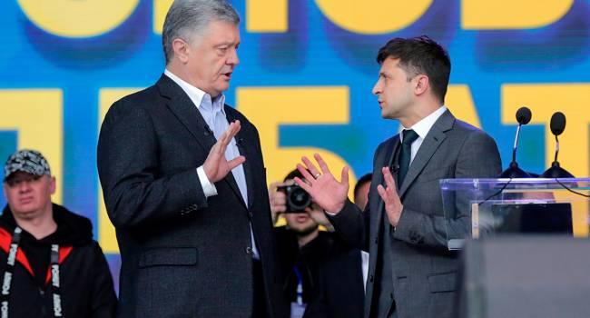 «Уже ставят лайки и подпевают друг другу»: журналист рассказал об объединении непримиримых сторонников Зеленского и Порошенко