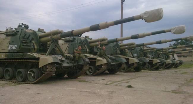 «Готувалися до ескалації»: Росія перекидала на Донбас для обстрілу ЗСУ крупнокаліберні САУ - ОБСЄ