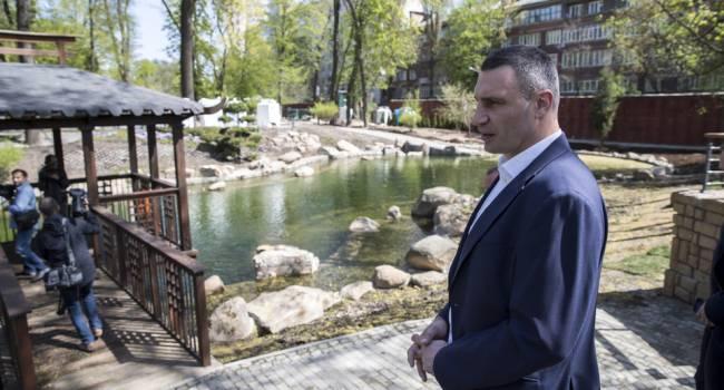 «Продолжаются и зимой»: Кличко рассказал о реконструкции киевского зоопарка