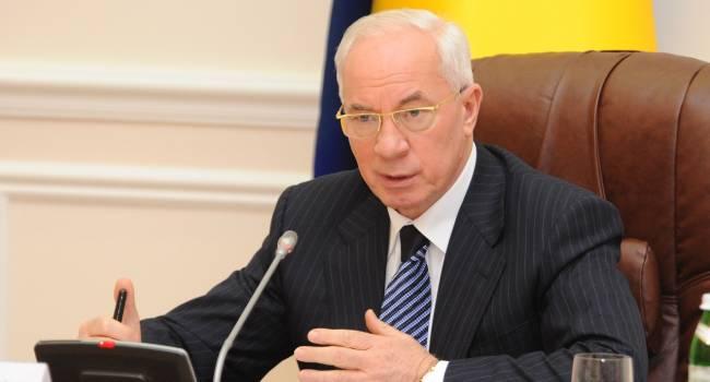 «Делайте выводы, господа»: Азаров прокомментировал результаты опроса о русском языке в Украине