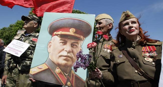 Российская идеология «победобесия» построена на том, что люди умирали не только в борьбе с нацизмом, но за сталинское государство, – блогер