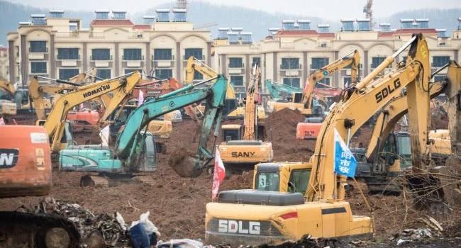 Эксперт объяснил, почему Китаю удастся построить клинику за 10 дней, а Украине – нет