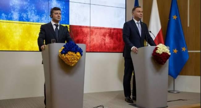 «Где-то от счастья обо***лся Вятрович»: эксперт прокомментировал речь Зеленского в Польше