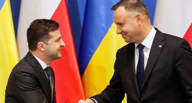 «Пересек все немыслимые границы подлости»: Пушков эмоционально отреагировал на речь Зеленского в Польше