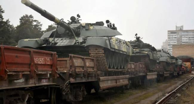 «Слава Украине!»: На баланс ВСУ поступили десятки усиленных танков Т-72