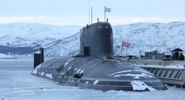«Выброс радиации в атмосферу»: В России произошел пожар на атомной подводной лодке