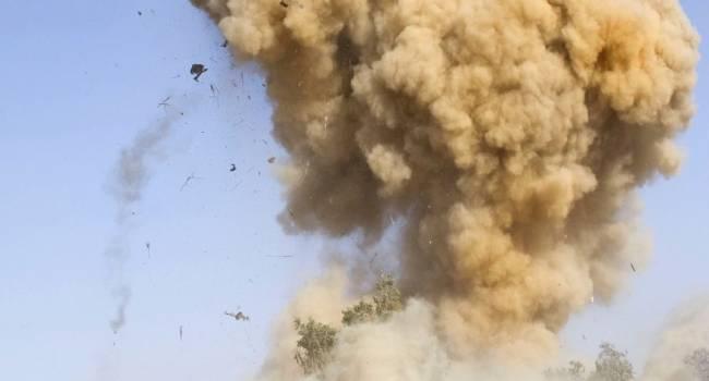 На Донбассе украинские военные подорвались на взрывном устройстве