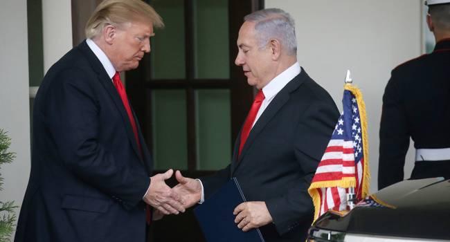 «Сделка века»: Нетаньяху и Трамп заключили соглашение по конфликту с Палестиной