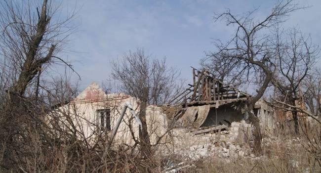 «Песков больше нет»: Поселок-призрак в зоне ООС буквально исчез из-за сильных обстрелов