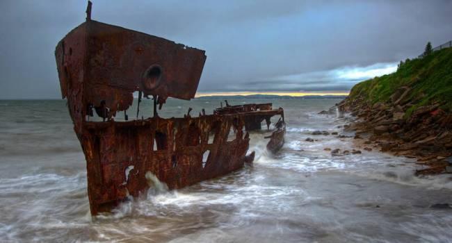 У побережья США обнаружен корабль, пропавший 100 лет назад в Бермудском треугольнике