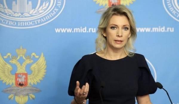 Захарова пригрозила ЕС «зеркальными мерами» в ответ на санкции по Крыму