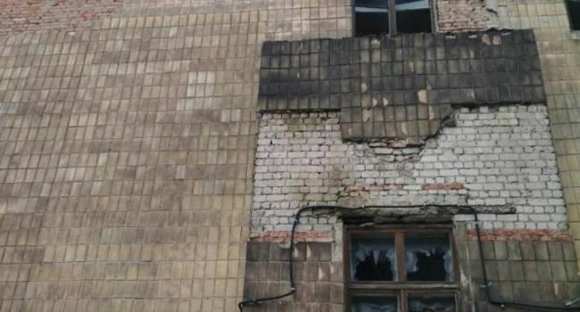 «ЧП в Горловке»: В одну из местных школ влетела мина