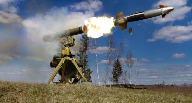 «Разорвало на куски»: Офицер ВСУ показал видео, как снаряд из ПТУР ликвидировал группу военных из России