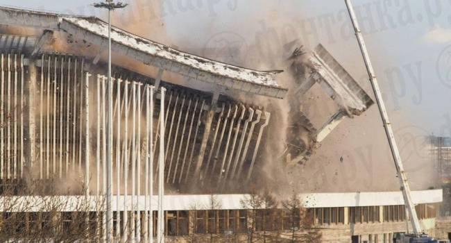 ЧП в России: В Санкт-Петербурге обрушилась часть спортивного комплекса, есть погибшие