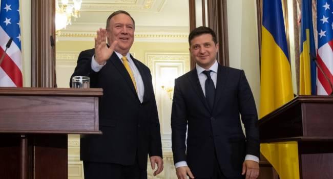 Нусс: Помпео «оценил» финт Зеленского и такого же о нем мнения, как и большинство здравомыслящих наших западных партнеров