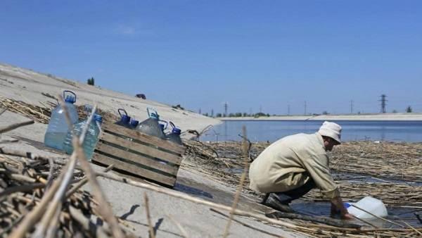 В российской Госдуме оценили идею «слуги народа» о продаже воды в аннексированный Крым
