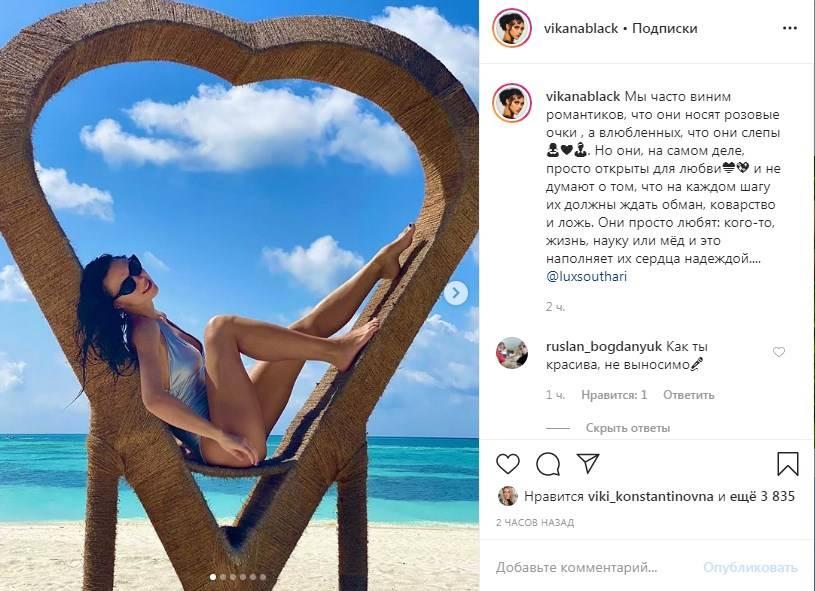 «Как ты красива, не выносимо»: Вика с «НеАнгелов» восхитила сеть фотографиями «с рая»