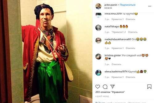 «Слава Украине!» Одиозный актер Алексей Панин превратился в украинского казака
