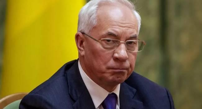 «Хрущев нервно курит в сторонке»: Азаров прокомментировал последнее заявление Гончарука об успехах Украины