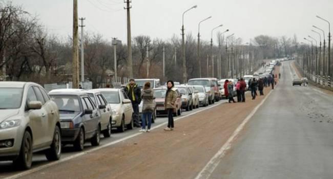 «35 тысяч человек!»: В ГПСУ рассказали о ситуации на КПВВ на Донбассе