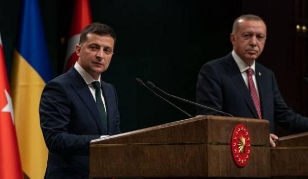 Турецкий президент Эрдоган совершит визит в Украину