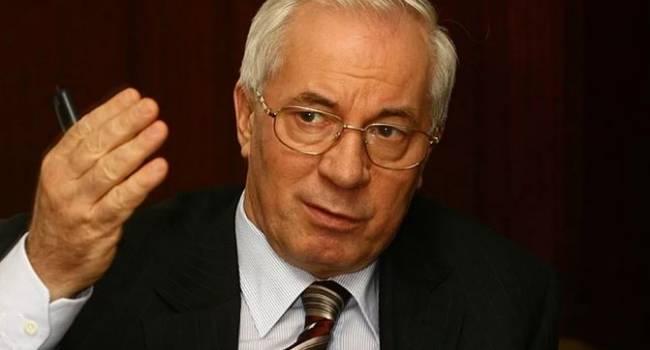 «Даже плана нет»: Азаров отреагировал на заявление Зеленского о новой Украине