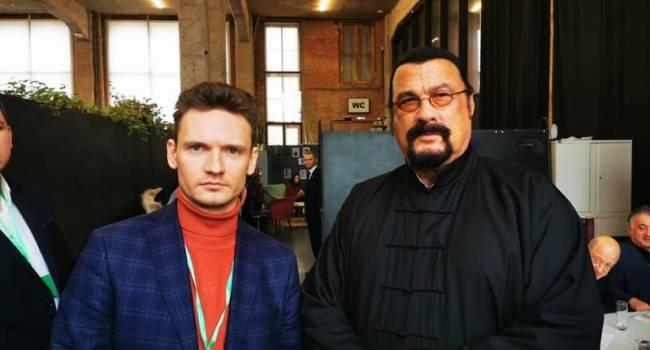 В РФ Прилепин учредил новую партию «За правду», в которую вошли Чичерина, Охлобыстин и даже американский актер Стивен Сигал