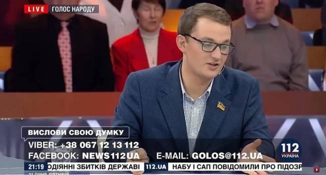 Смолий: Брагарь извинился за свое высказывание в прямом эфире, а за донос на волонтеров извинение будет?