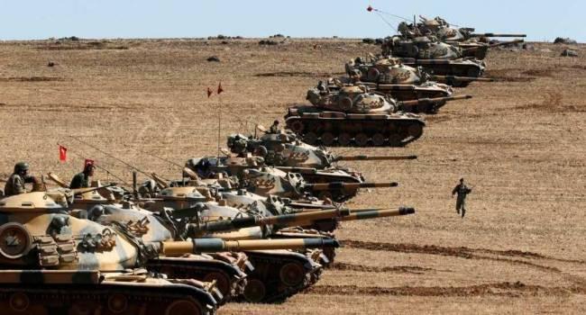 Военная авиация России уничтожила турецкую колонну под Алеппо