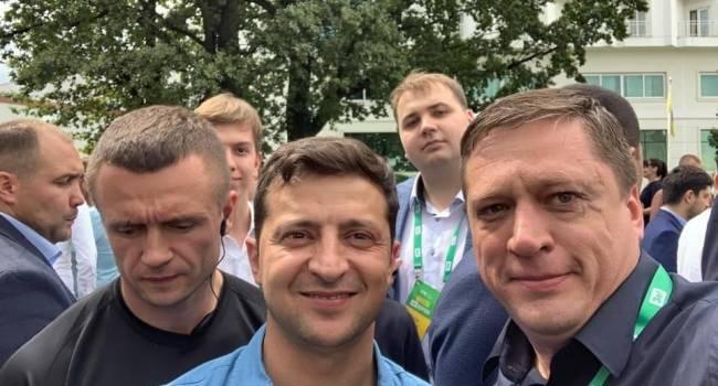 Блогер: нет никакого Брагаря, Иванисова, Ермака, Богуцкой и Ко, а есть Зеленский, который за каждого из них лично ручался