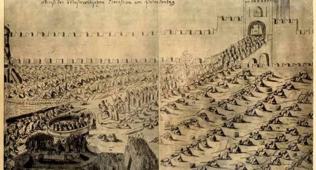 Вот откуда пошла сегодняшняя Россия: историк показал, как выглядело место, где сегодня Красная площадь, в 1661-1663