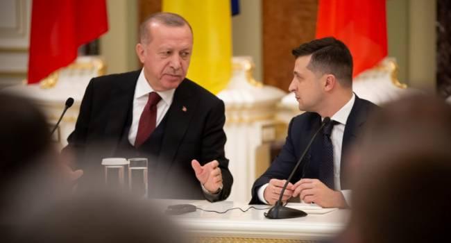 «Скажите ему кто-нибудь, что турецкие военные находятся в Сирии»: политолог заявил, что в разговоре с Эрдоганом Зеленскому нужно было промолчать