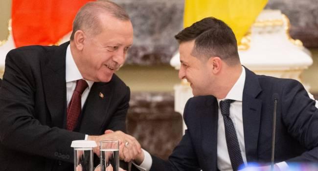 Зеленский после переговоров с Эрдоганом рассчитывает на «лавину инвестиций»