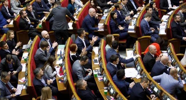 Политолог: такую Верховную Раду, как сейчас, можно сокращать до одного народного депутата. Например, Брагаря